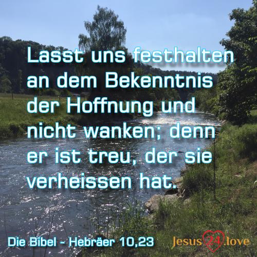 Hebräer 10,23