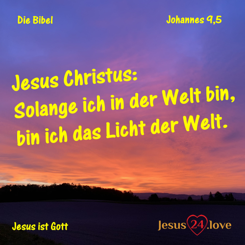 Johannes 9,5